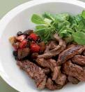 Wok de viande chevaline au Confit de Cranberries & Fruits rouges Comtes de Provence