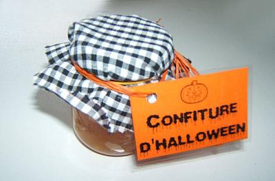 confiture halloween