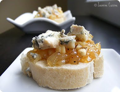 confiture poire fromage