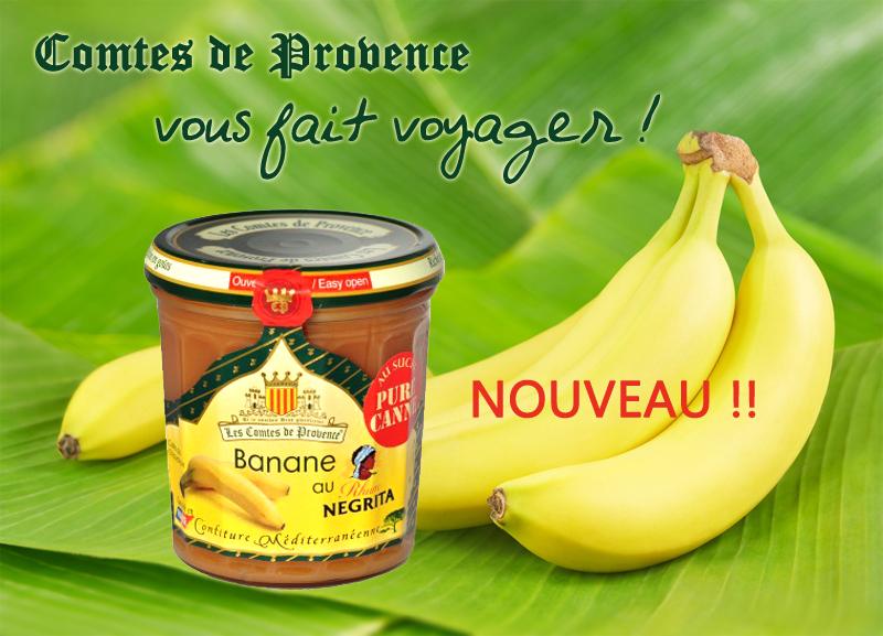 confiture rhum -banane