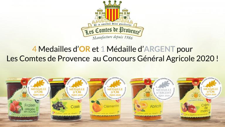 Médailles CGA 2020